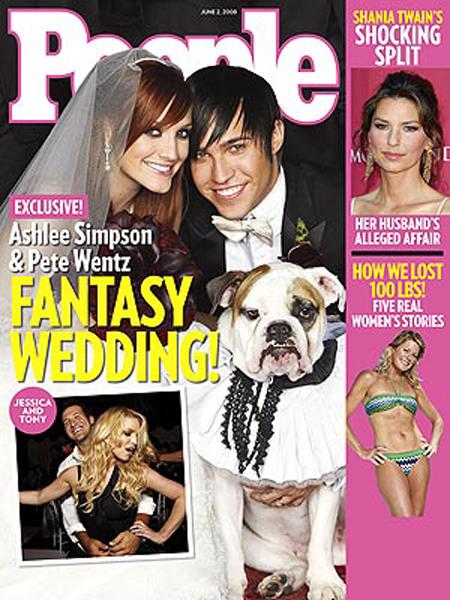 Ashlee Simpson y Pete Wentz se casaron