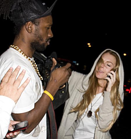 Lindsay Lohan golpeó a un Paparazzi
