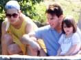 imagen Katie Holmes y Tom Cruise relajados en Brasil