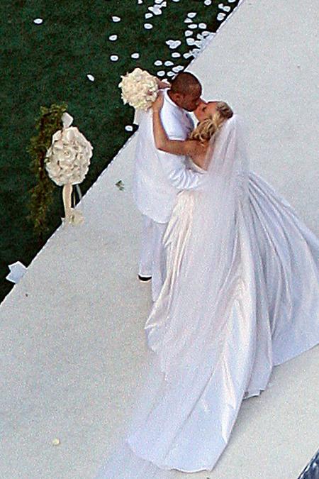 El casamiento de Kendra Wilkinson y Hank Baskett 01