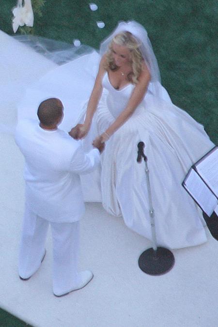 El casamiento de Kendra Wilkinson y Hank Baskett 04