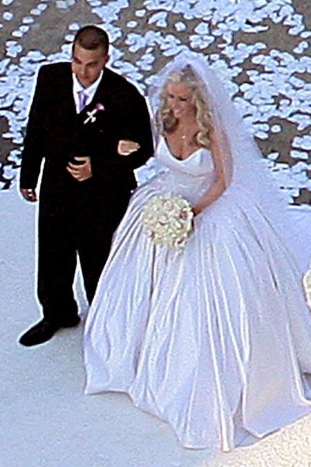 El casamiento de Kendra Wilkinson y Hank Baskett 06