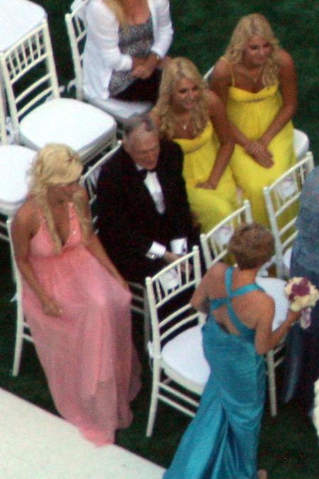 El casamiento de Kendra Wilkinson y Hank Baskett 07