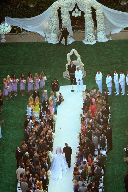 El casamiento de Kendra Wilkinson y Hank Baskett 08