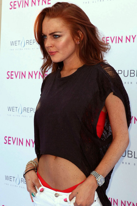 Lindsay Lohan festejó su cumpleaños 04