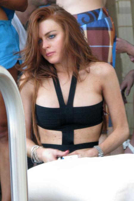 Lindsay Lohan festejó su cumpleaños 06