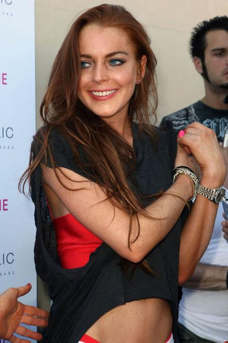 Lindsay Lohan festejó su cumpleaños 07