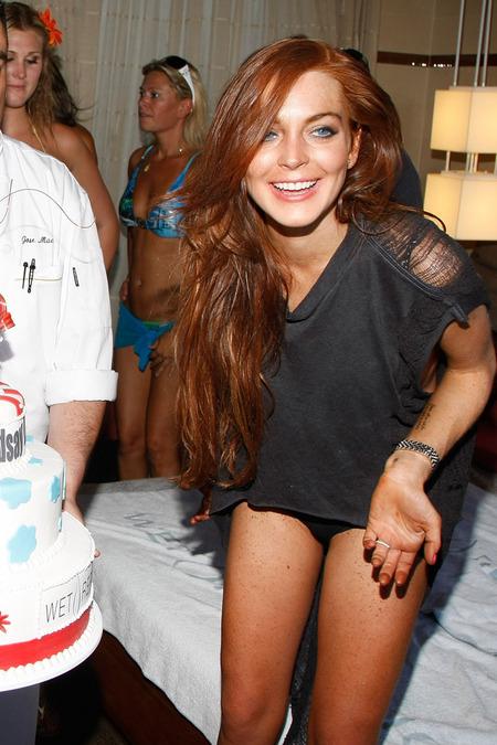 Lindsay Lohan festejó su cumpleaños 10