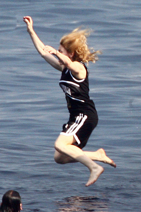 El festejo de Madonna en familia 05