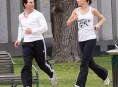 imagen Katie Holmes y Tom Cruise entrenan en pareja