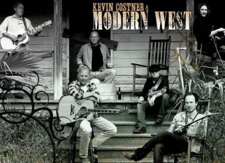 Kevin Costner y Modern West Band cantarán en el Palau de la Música Catalana