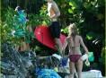 imagen Jude Law y Sienna Miller más que enamorados en Barbados