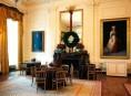 imagen Los Obama muestran la decoración navideña de la Casa Blanca