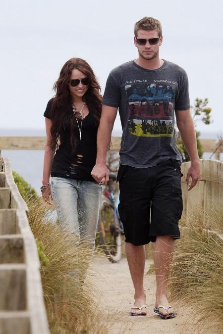 Miley Cyrus y Liam Hemsworth juntos en Australia-04