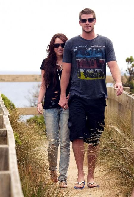 Miley Cyrus y Liam Hemsworth juntos en Australia-05