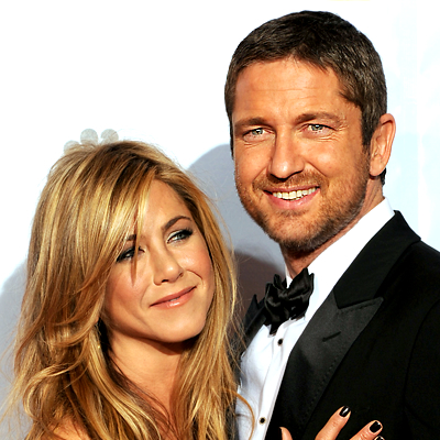 A Jennifer Aniston, Gerard Butler le parece divertido2