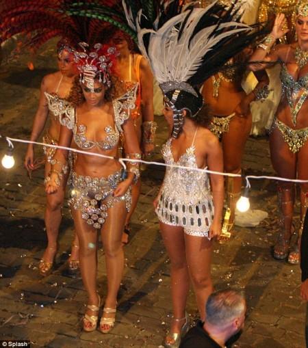 Alicia Keys y Beyoncé graban juntas en Brasil8