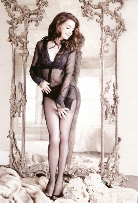 Anne Hathaway en GQ1