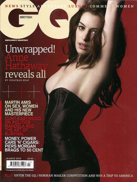 Anne Hathaway en GQ2