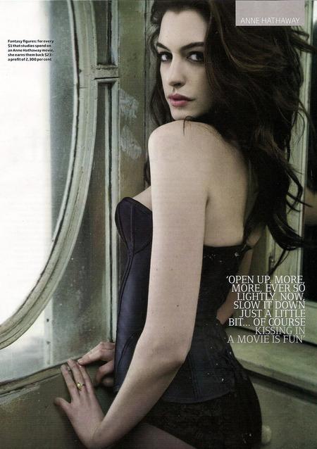 Anne Hathaway en GQ3