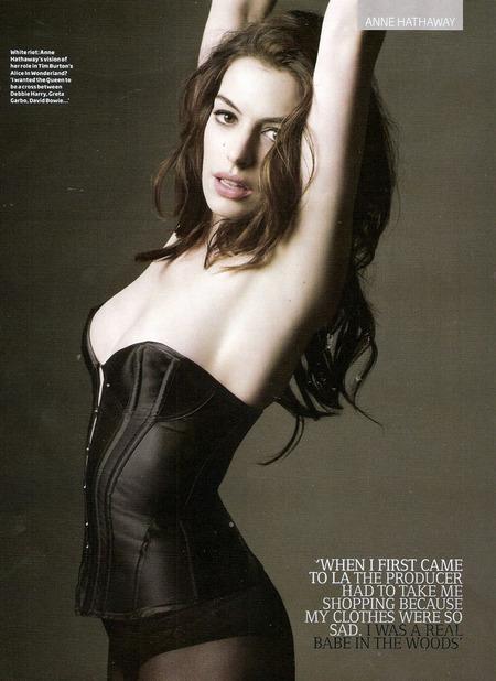 Anne Hathaway en GQ6