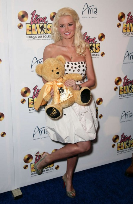 Holly Madison en la premiere de Viva Elvis 4