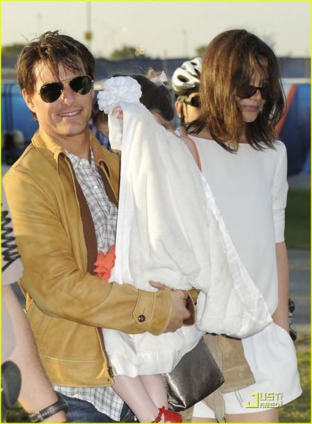 Tom Cruise, Suri Cruise, Katie Holmes
