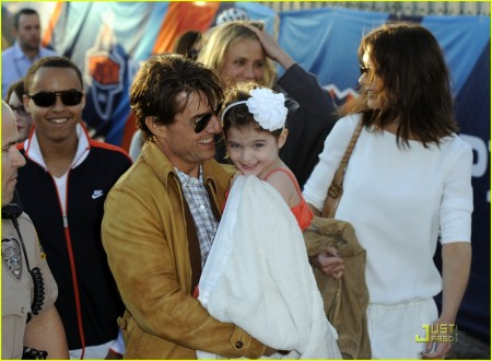 Connor Cruise, Tom Cruise, Suri Cruise, Katie Holmes, Cameron Diaz