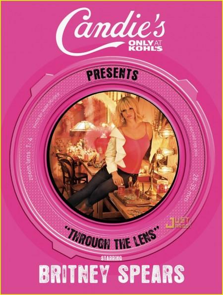 La nueva campaña de Britney Spears para Candies-01