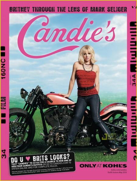 La nueva campaña de Britney Spears para Candies-02