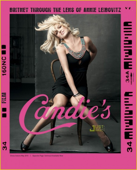 La nueva campaña de Britney Spears para Candies-04