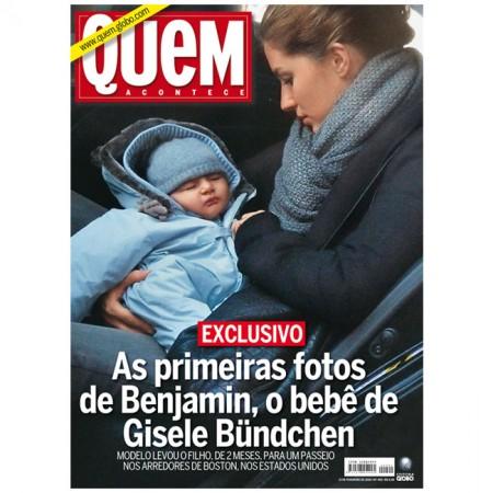 La primera foto del hijo de Gisele Bundchen