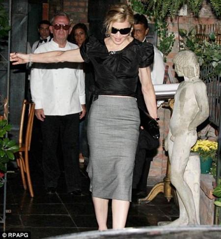 Madonna y Jesús Luz juntos en Rio de Janeiro1