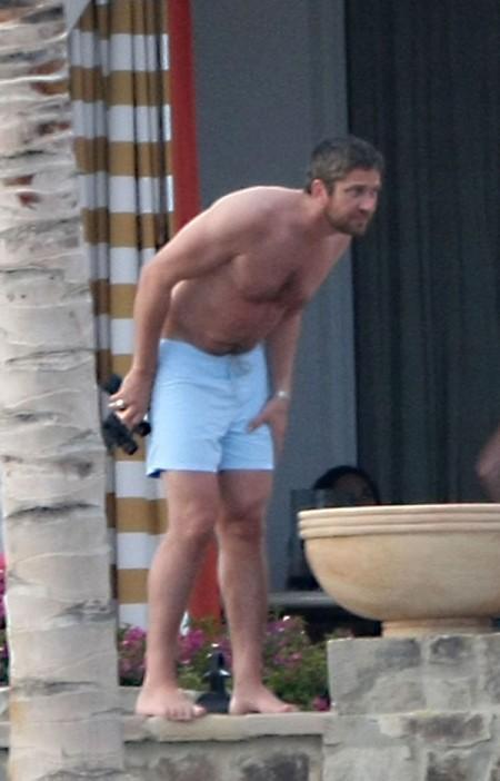 Mas de las vacaciones de Jennifer Aniston y Gerard Butler9