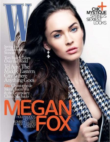 Megan Fox para W Magazine1