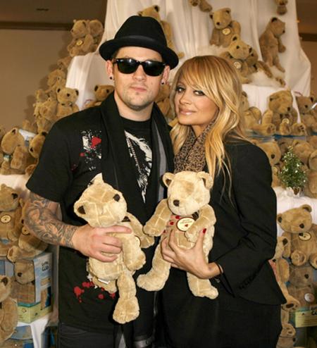 Nicole Richie y Joel Madden se comprometieron1