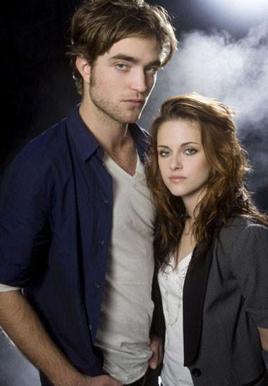 Robert Pattinson y Kristen Stewart juntos1