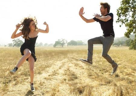 Robert Pattinson y Kristen Stewart juntos10