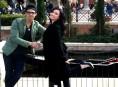 imagen Joe Jonas y Demi Lovato juntos en Epcot Center