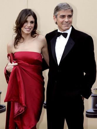 George Clooney y Elisabetta Canalis by Roberto Cavalli 1