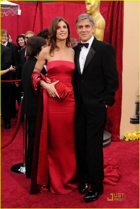 George Clooney y Elisabetta Canalis by Roberto Cavalli 2