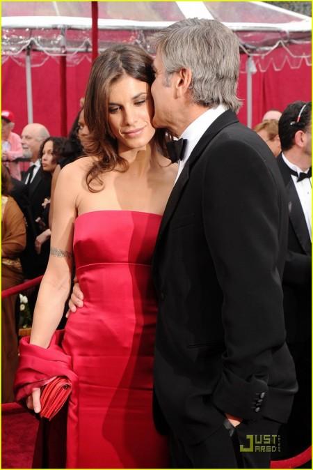 George Clooney y Elisabetta Canalis by Roberto Cavalli 3