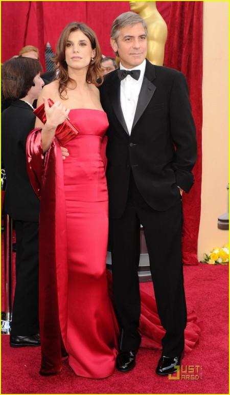 George Clooney y Elisabetta Canalis by Roberto Cavalli 4