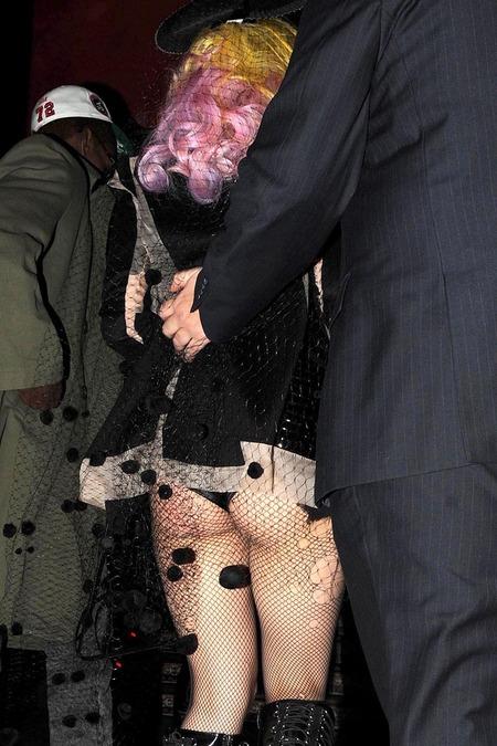 Lady GaGa Leaving The Buddah Bar (USA ONLY)