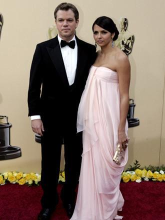 Matt Damon y Luciana Barroso by Salvatore Ferragano 1