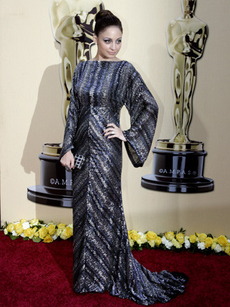 Nicole Richie by Reem Acra 1