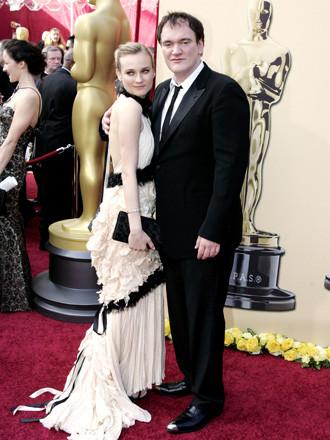 Quentin Tarantino y Diane Kruger 1