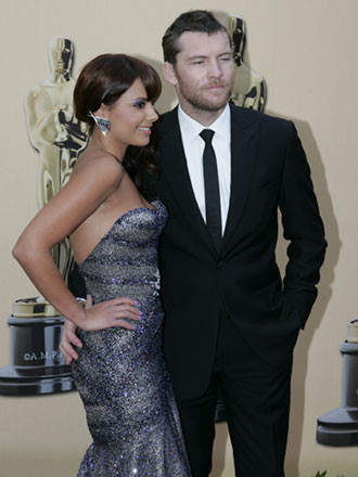 Sam Worthington y Natalie Mark 1