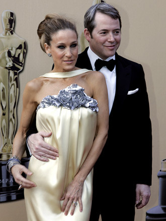 Sarah Jessica Parker by Channel y Matthew Broderick by Tom Ford 1