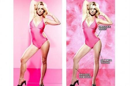 Britney Spears generó una gran polémica por sus fotos 1